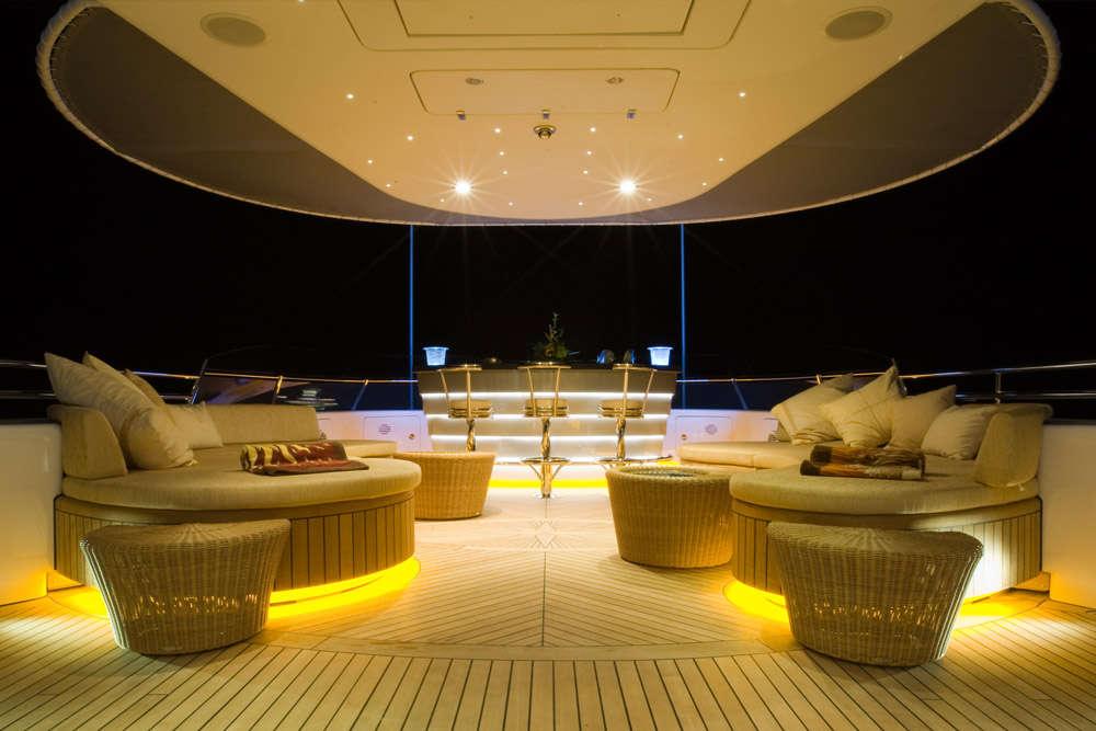 Mega Super Yacht LED Light Electronic E YACHT PROJECTS